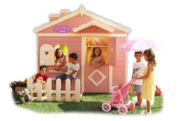 resultado de imagen para casa de madera de nias