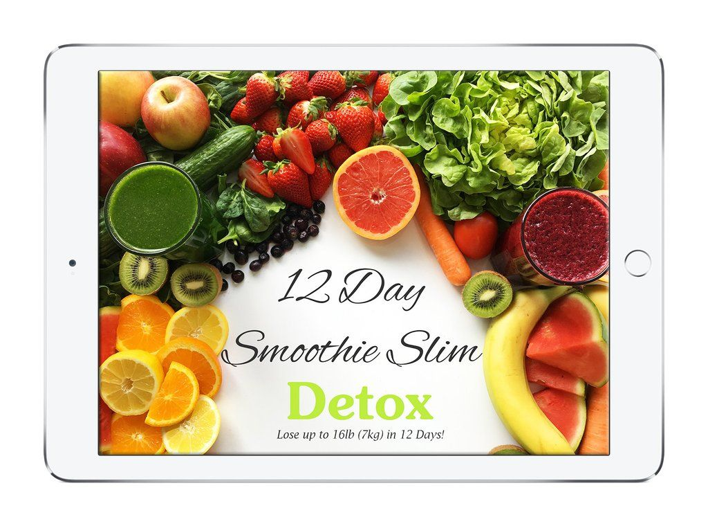 12 giorni smoothie slim detox ebook gratuito