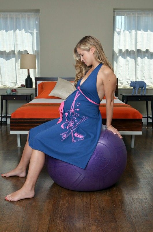 Pretty Pushers Delivery Gown - wear it to the hospital | Cool Stuff ...