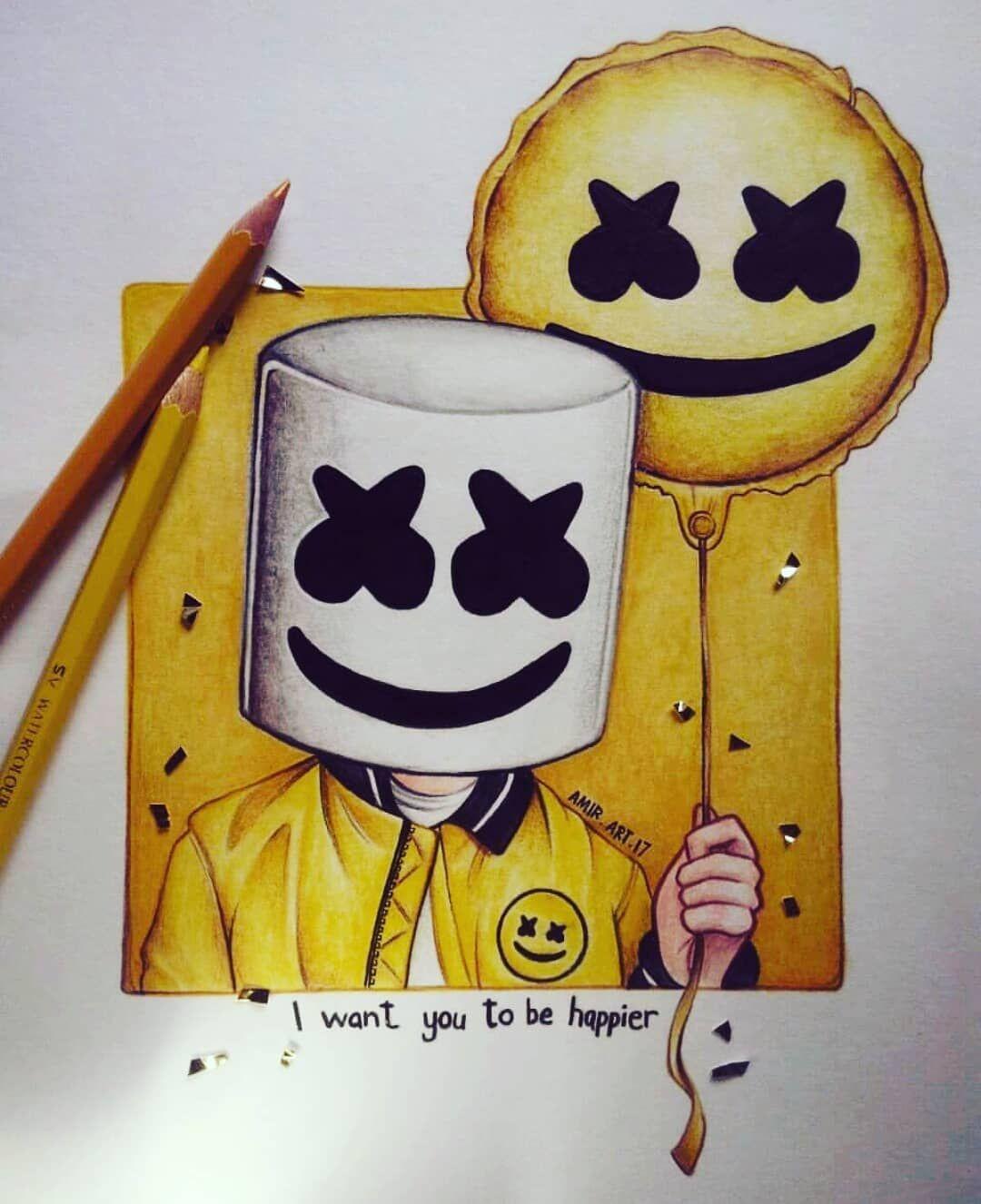 Dj Marshmello Drawing : marshmello, drawing, KEEP_IT_MELLO, @marshmellomusic, #marshmellomusic, #marshmello, #mellogang, #mello, #marshmallow, #marshmellofamily, Drawings, Love,, Drawings,