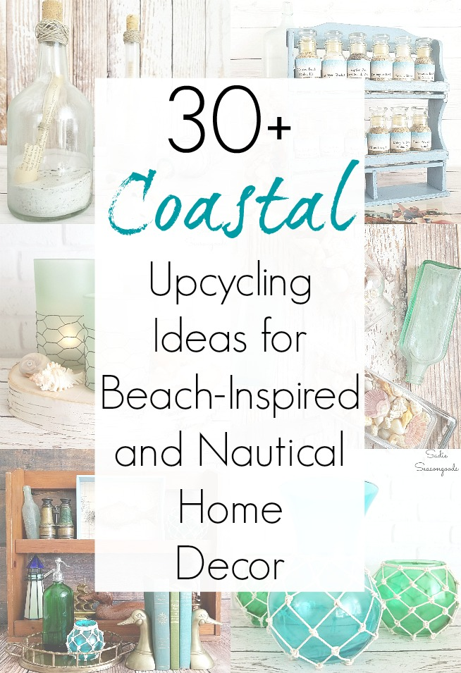 Photo of Beach Home Decor and Upcycling Ideas for Coastal Crafts