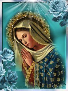 Image Result For Santos Catolicos Milagrosos Hail Mary Prayers
