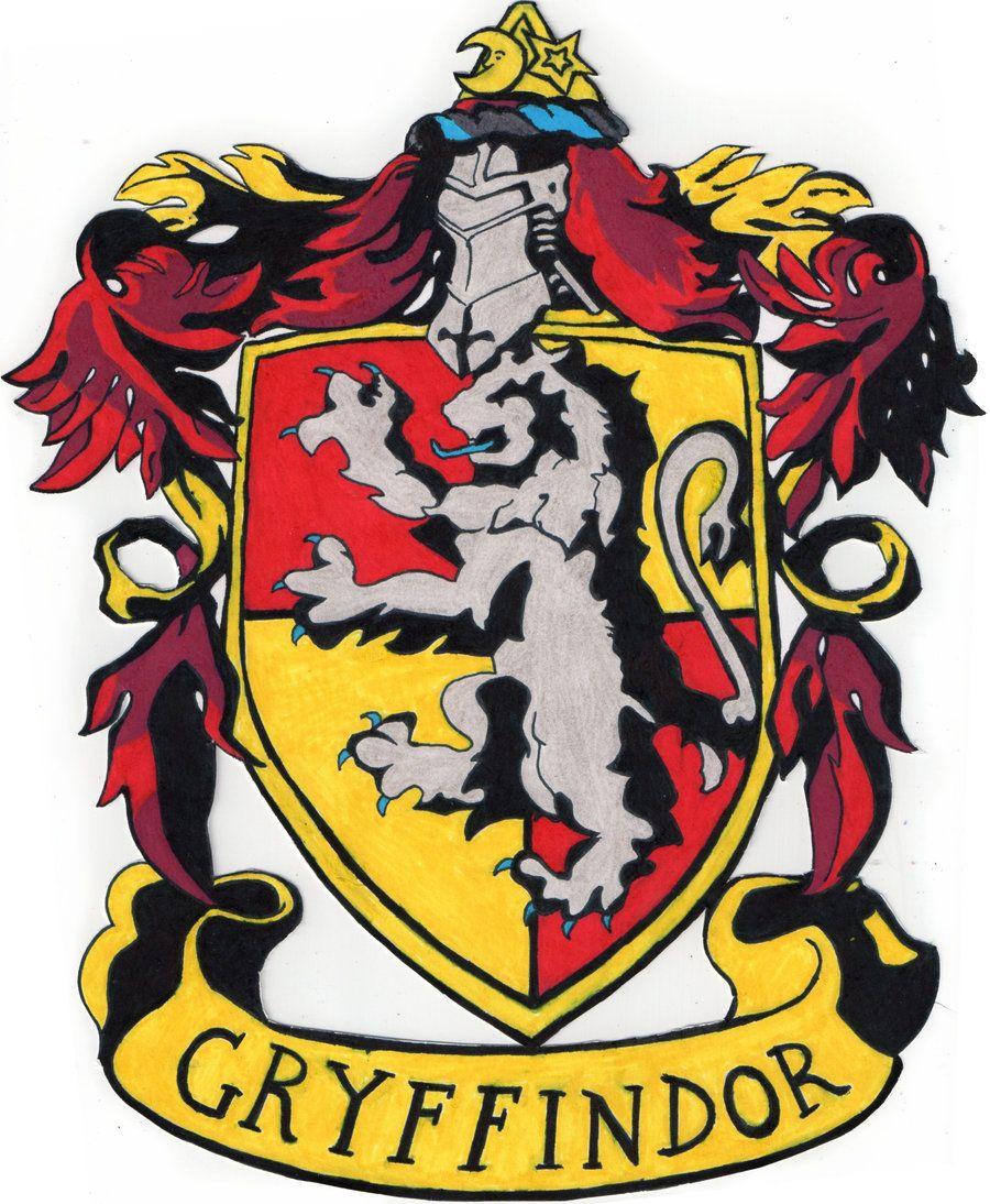 Gryffindor Crest Escudo De Hogwarts Escuela De Harry Potter Escudos Harry Potter