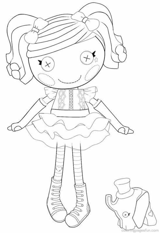Lalaloopsy coloring pages 13 places to visit pinterest for Lalaloopsy littles coloring pages