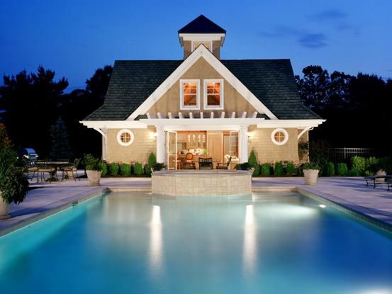 Timber frame pool house in New Jersey | Home and decor | Pinterest ...