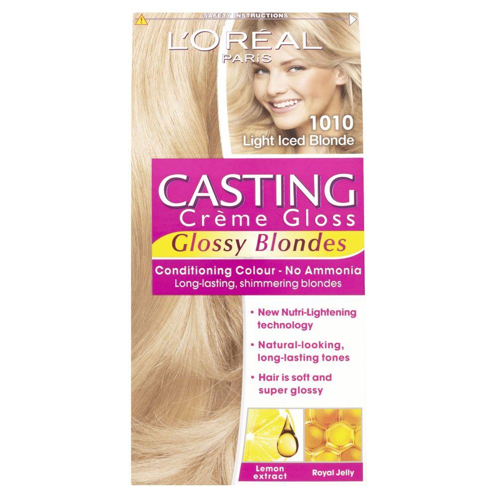 L Oreal Pariscasting Creme Gloss Light Iced Blonde 1010 Semi