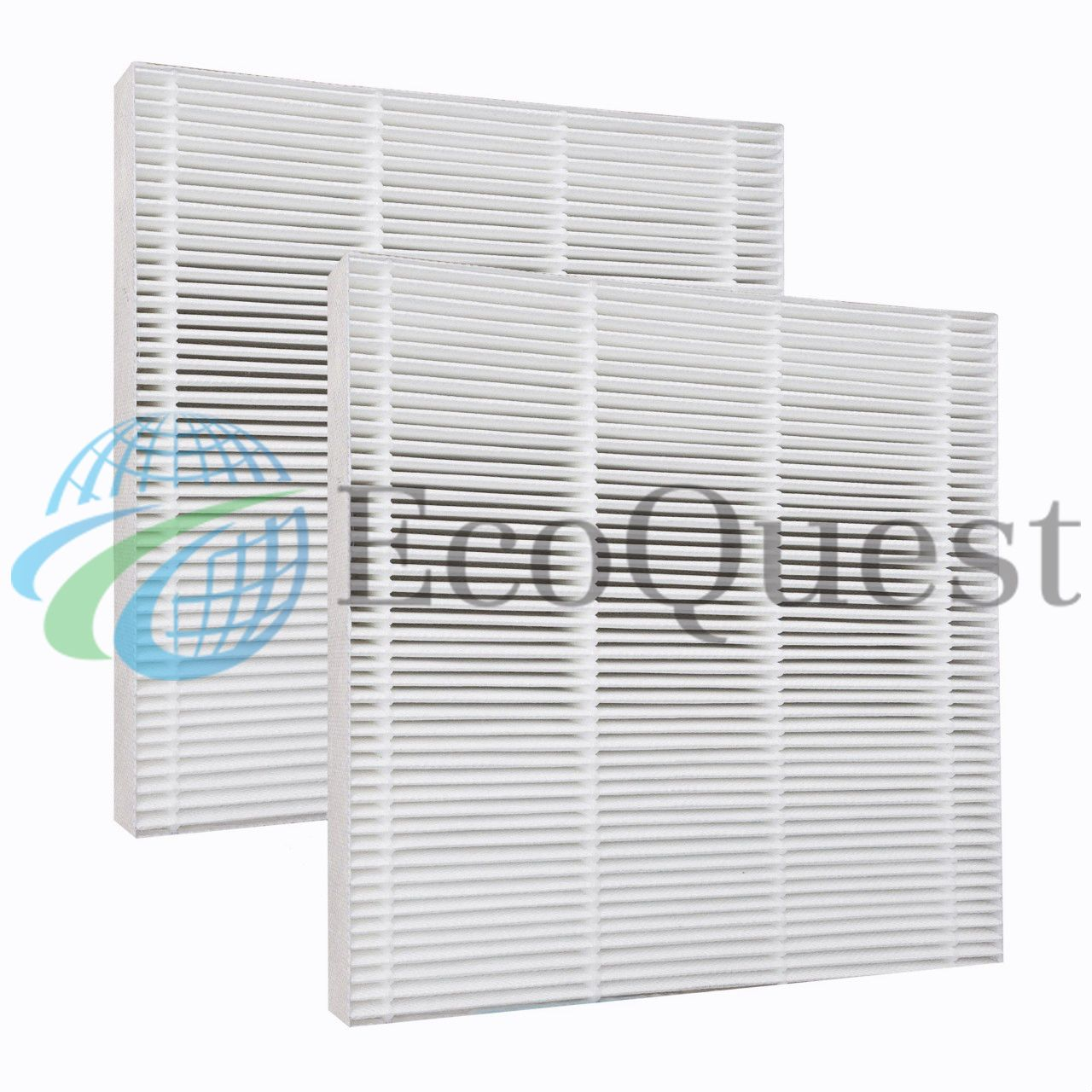 2 HEPA FILTERS For Fresh Air by Ecoquest Hepa filter