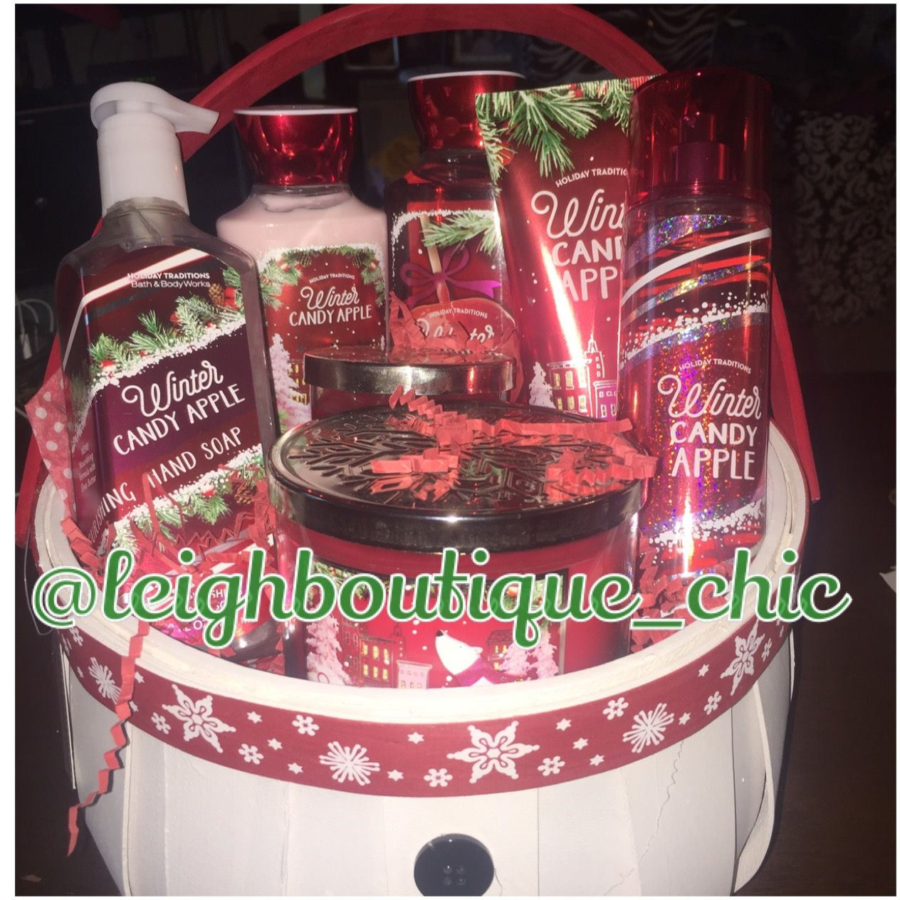 Holiday Gift Basket- Christmas Gifts, Christmas Gift Basket, Bath ...