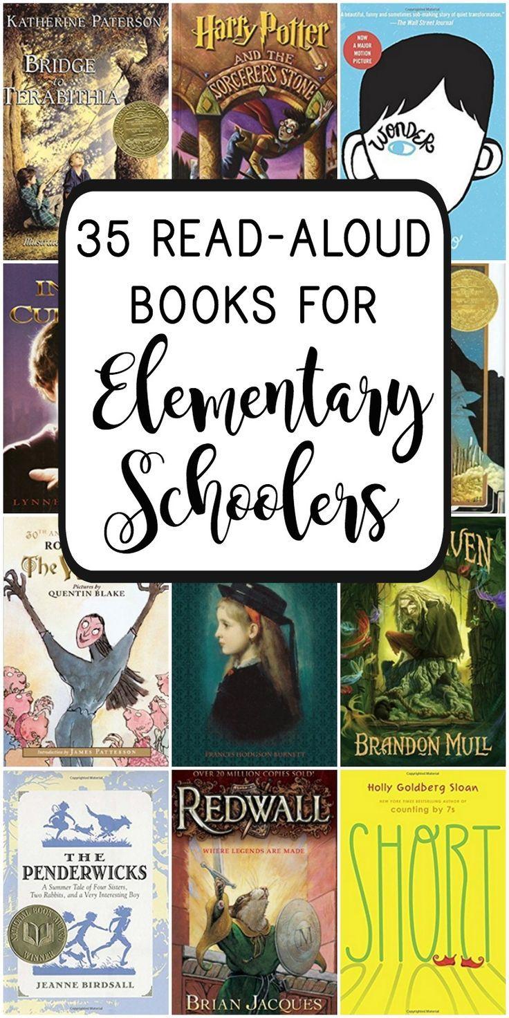 35 fantastic read aloud books for elementary schoolers