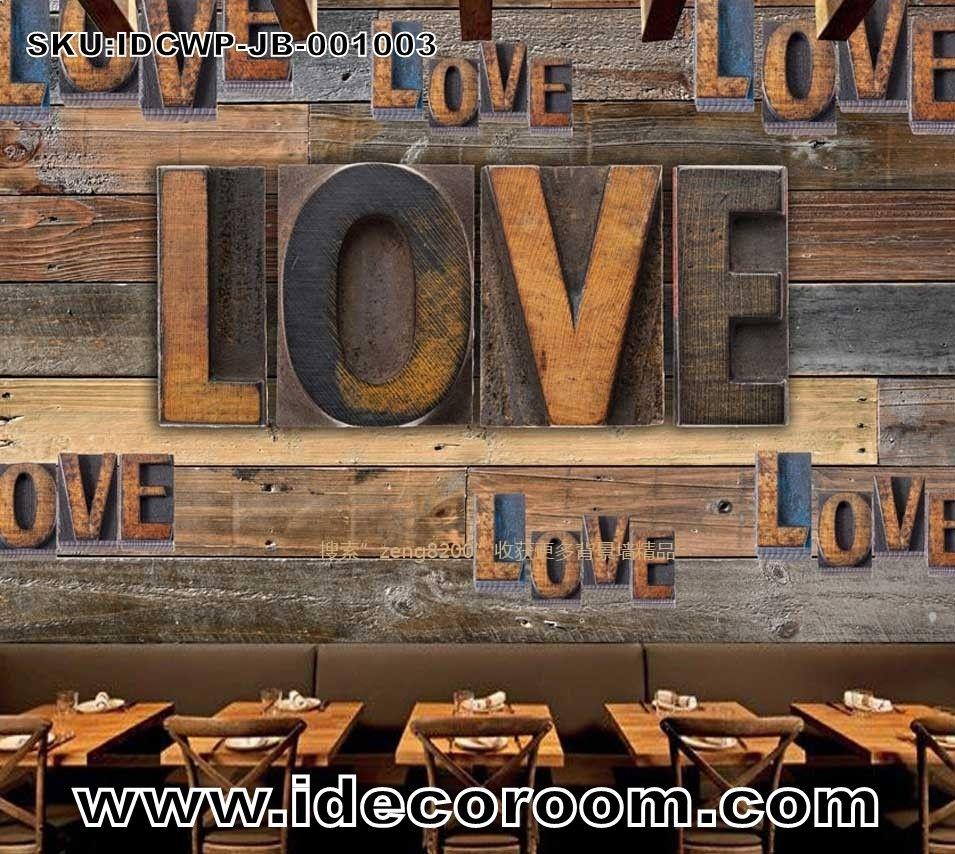 Custom Size Diy Living Room Wall Murals Wall Murals Wooden
