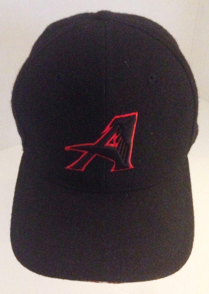 e9708591 Atlanta Falcons Cap Hat Size 7 3/8 Black Red Nike Team Sideline ...