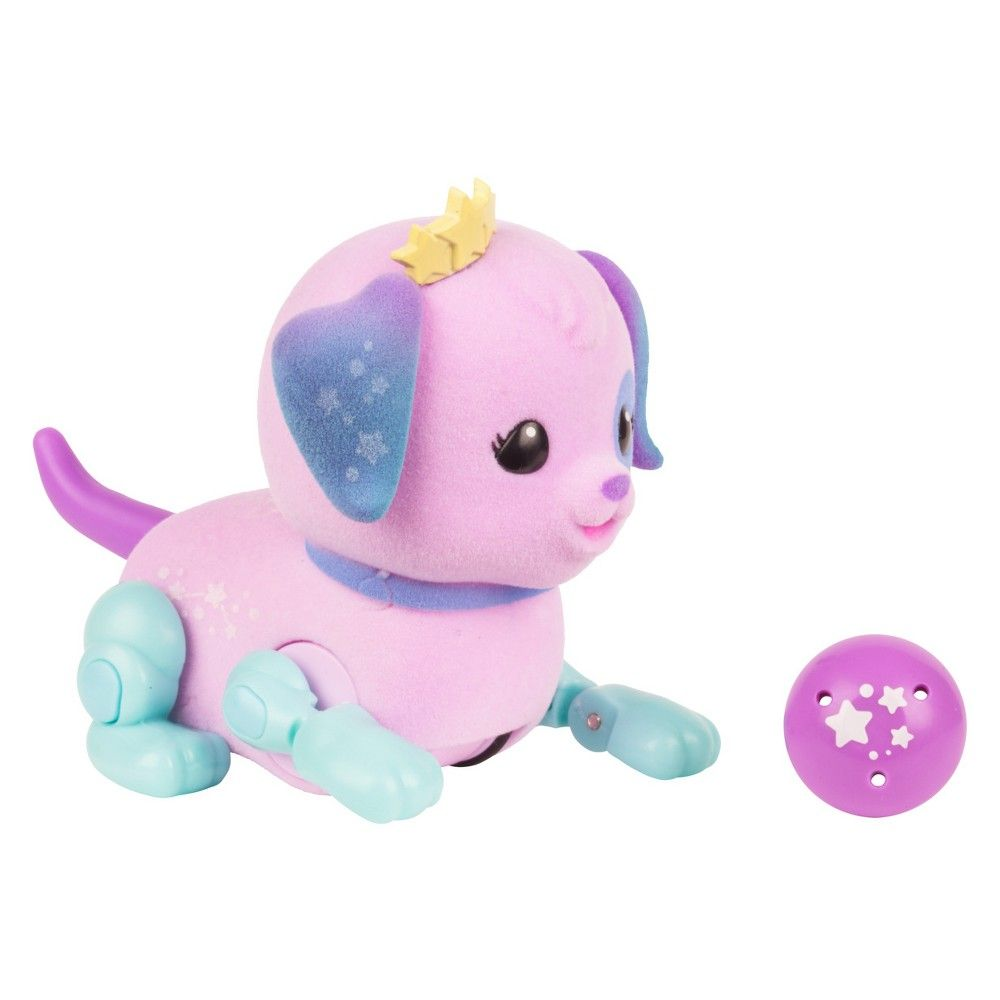 Little Live Pets Lil' Cutie Pup Star Paws Purple