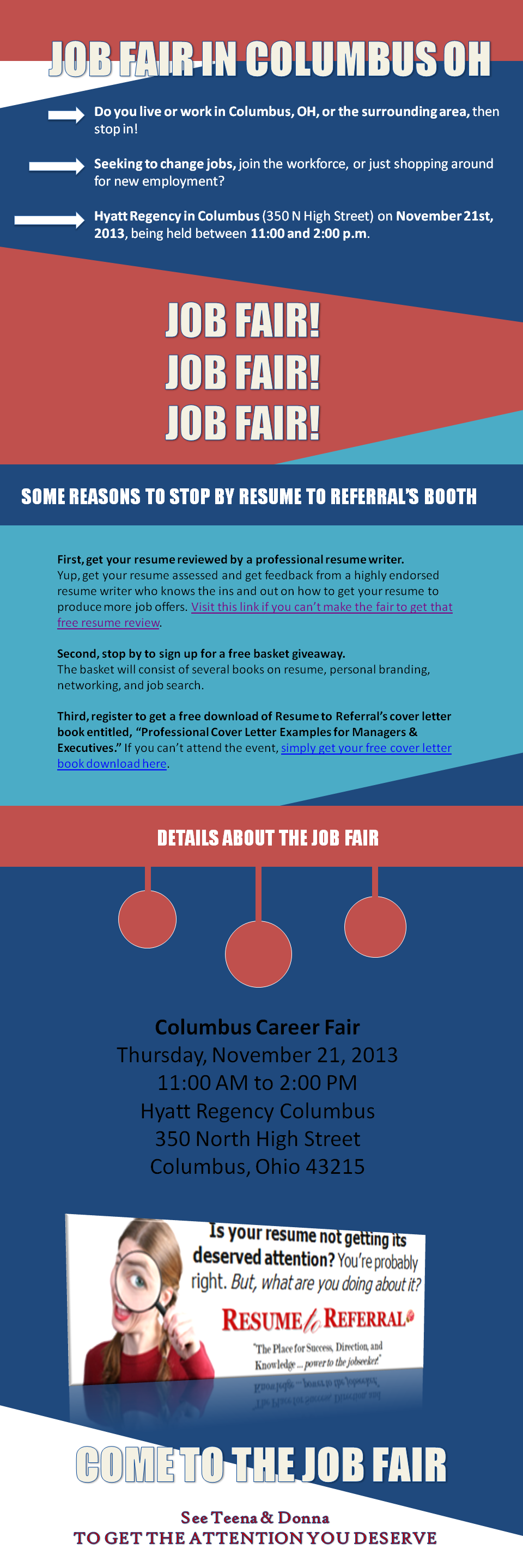 Resume Service Will Be @ Upcoming Job Fair in Columbus, OH | Job ...