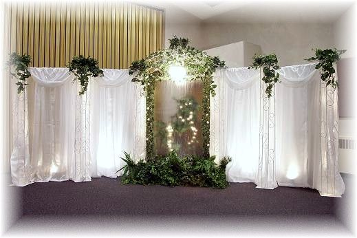 Pictures Of Wedding Pillars Decorated Wedding Decorations In Utah