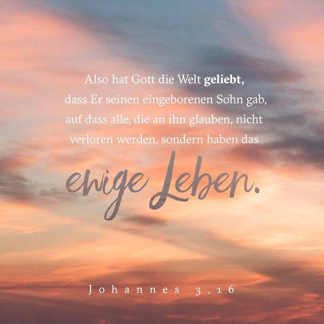 Johannes 3 Vers 16