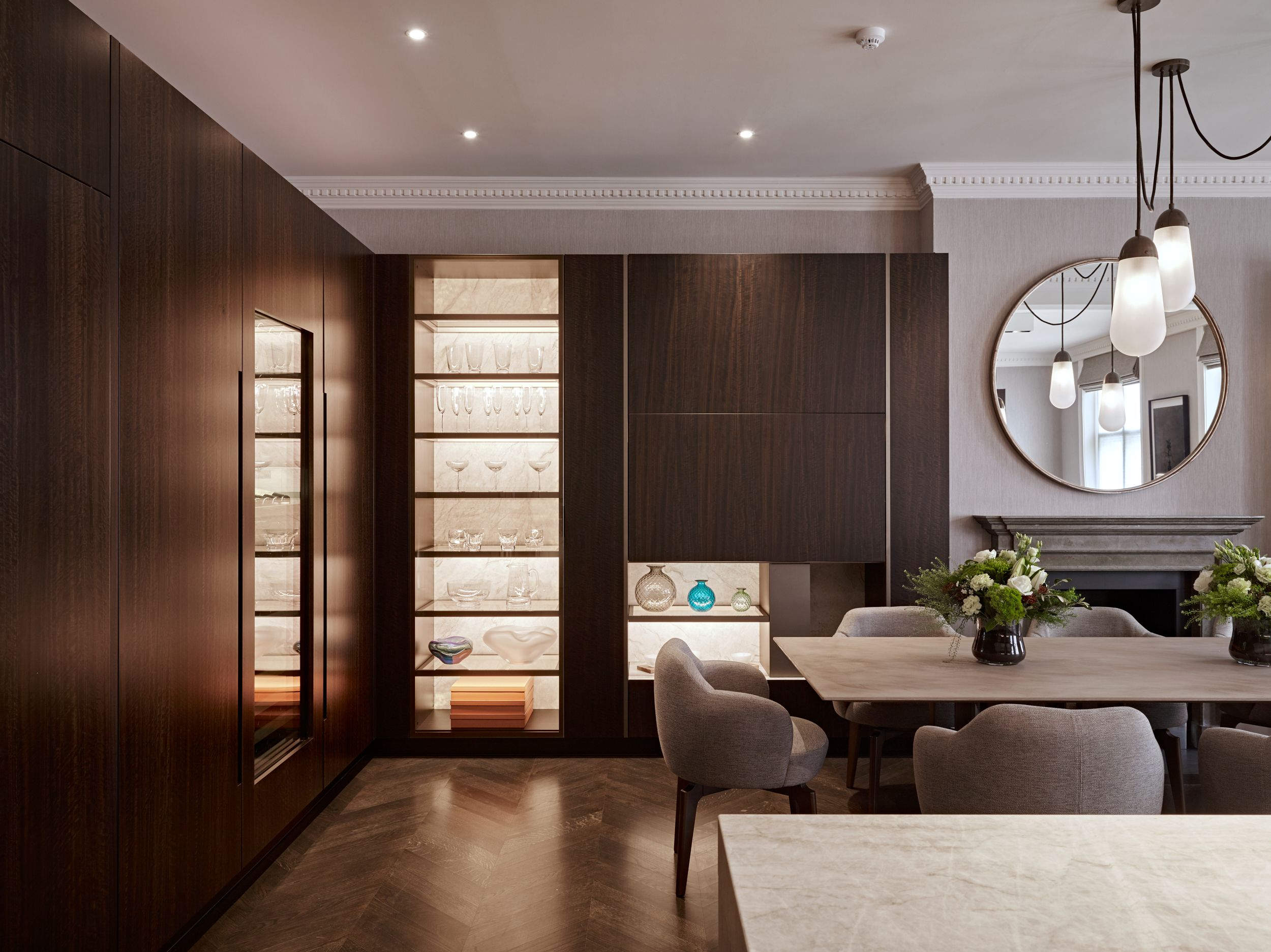 Eggersmann Design Smoked Eucalyptus Veneered Cabinetry Designer