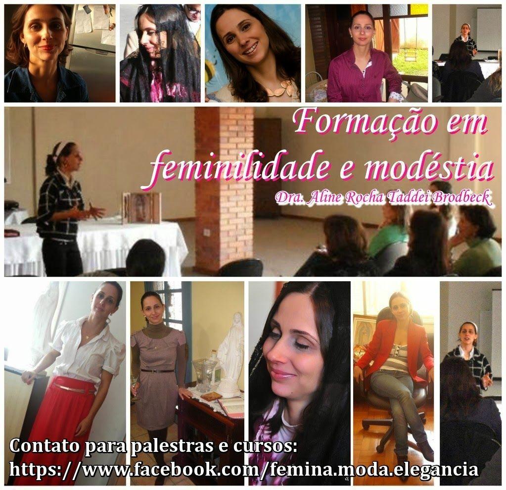 FEMINA - Modéstia e elegância: Palestras e cursos