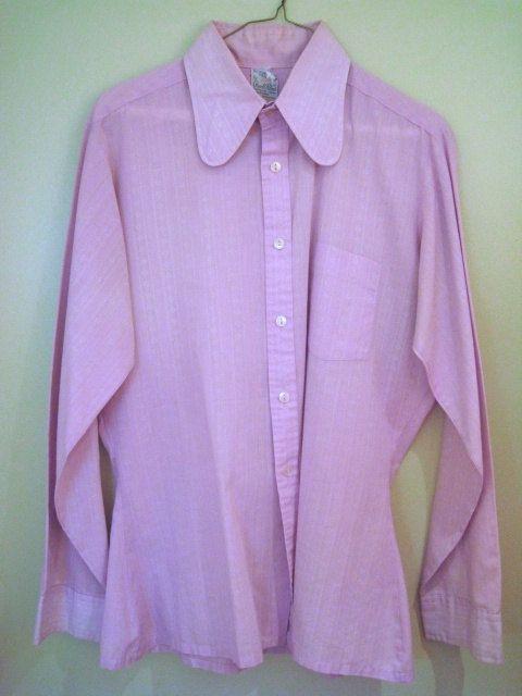Men's mod shirt - Light Purple Arnold Palmer Penny Round Collar ...