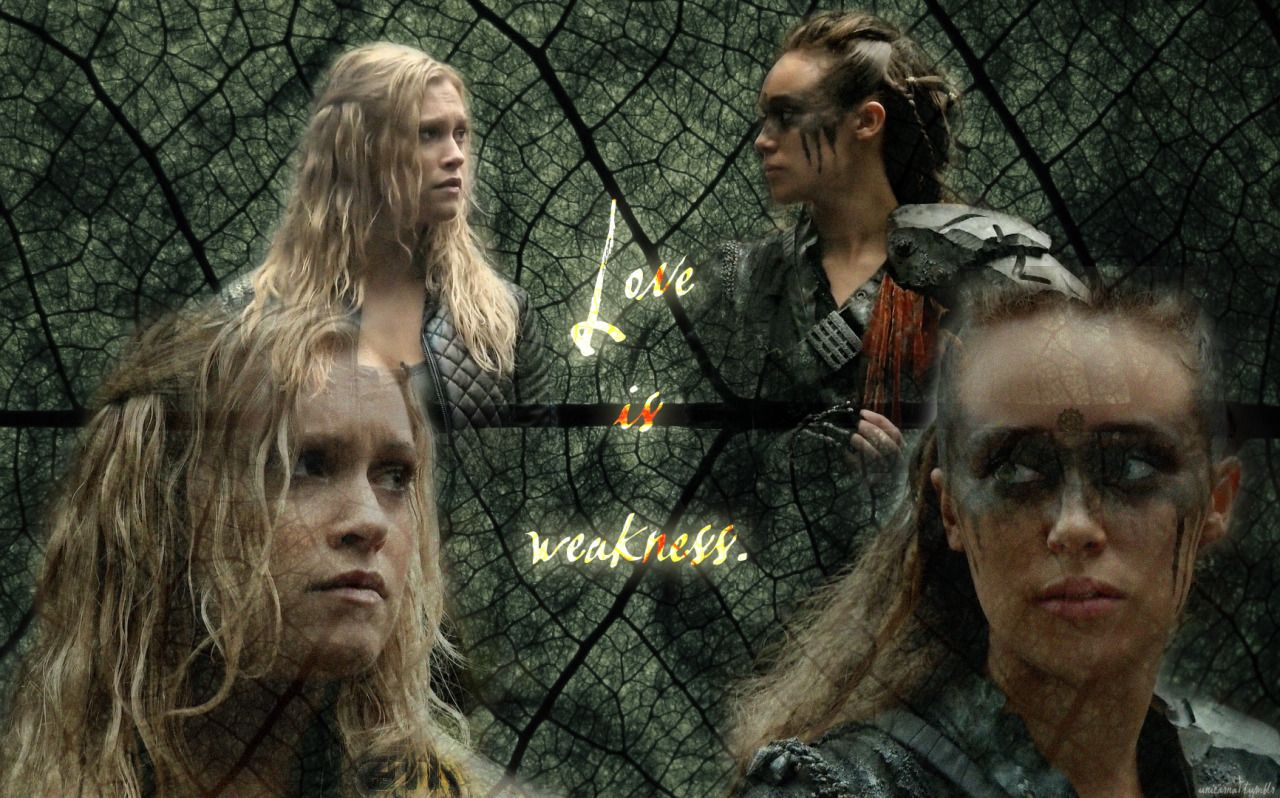 The 100 Clarke And Lexa Wallpaper Google Search 100
