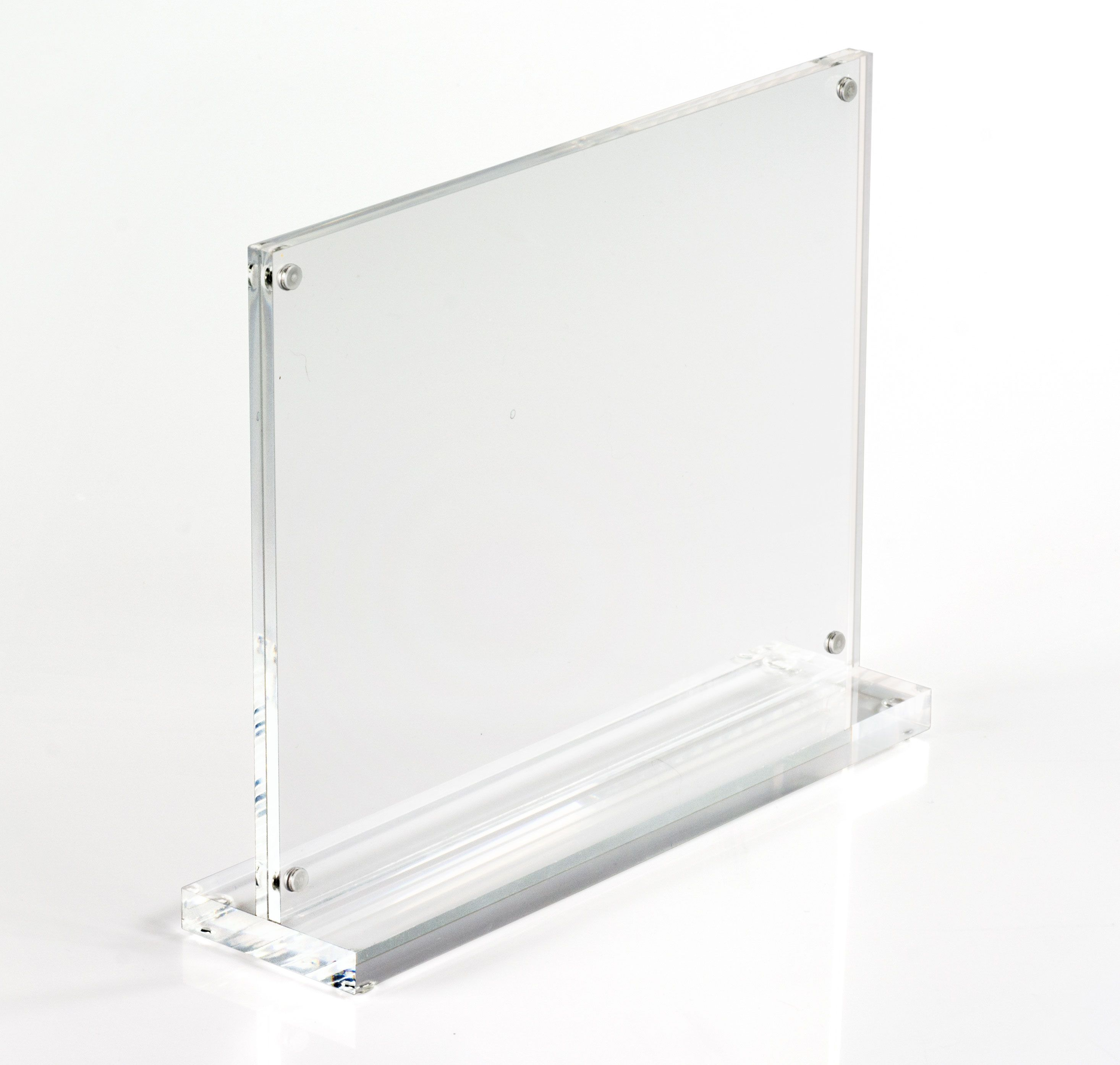 Amazoncom  Cq Acrylic 3Pack 4X6 Acrylic Frame, Magnetic Picture