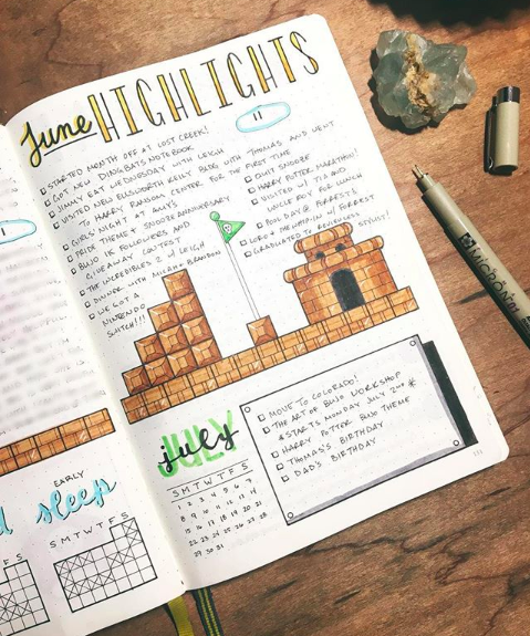 Nouveaubujo June Is Almost Over And There Have Been So Many Amazing Times To Highlight Do Yo Bullet Journal Inspiration Bullet Journal Bullet Journal Icons