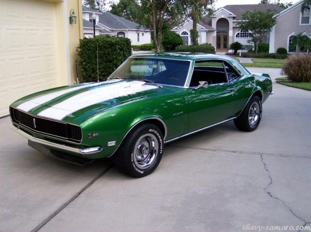Chevy Camaro First Generation Camaro Pictures | ME | 1968