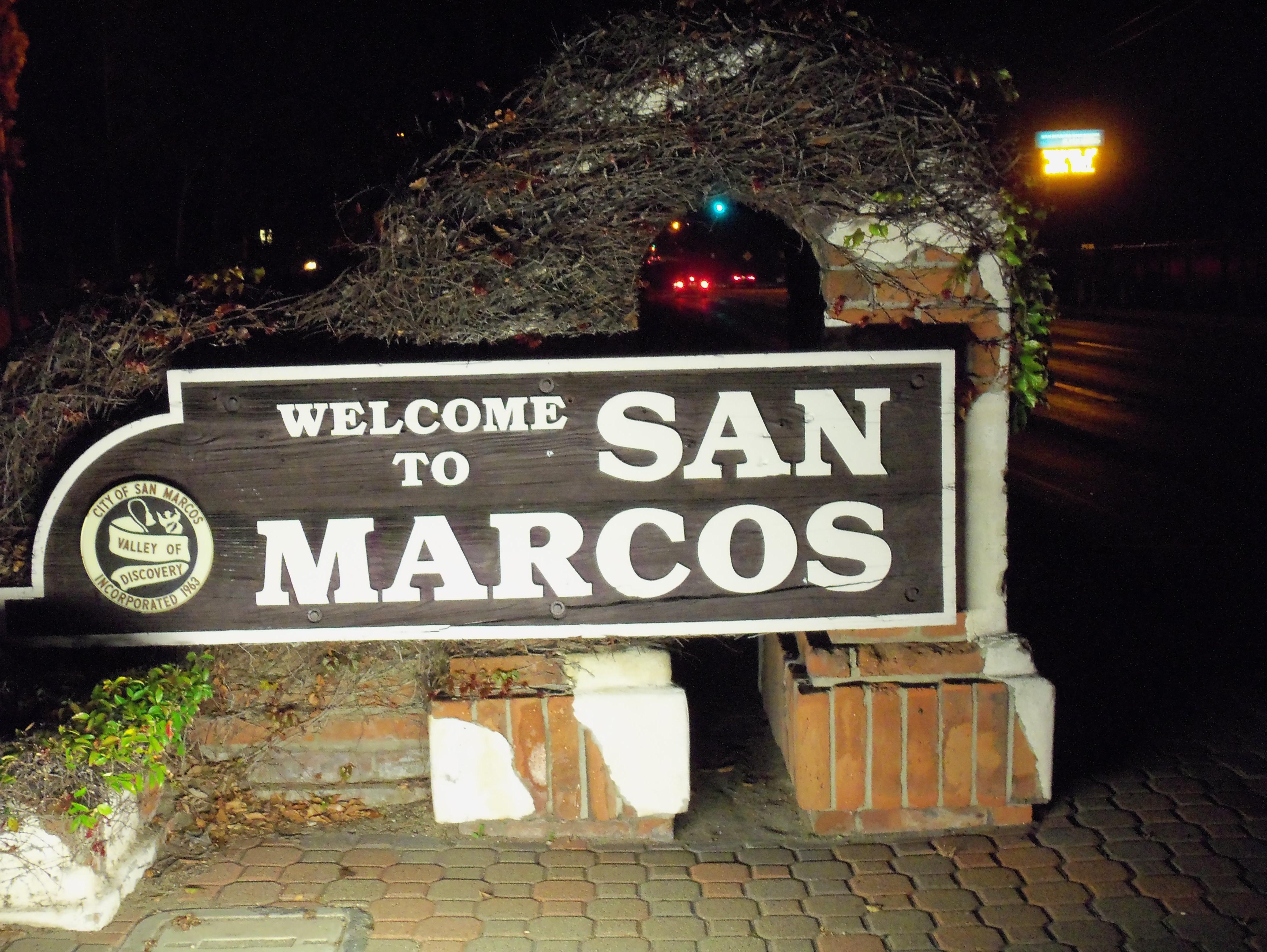 Welcome To San Marcos San San Diego County San Diego
