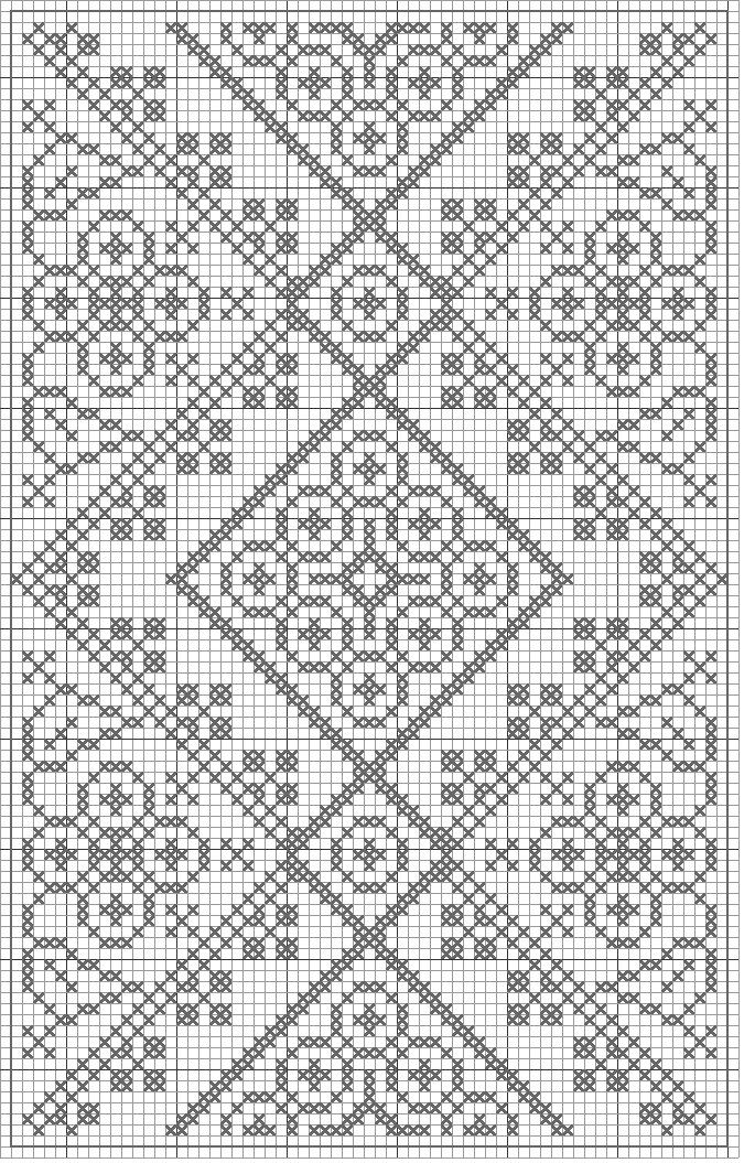 Free Filet Crochet Patterns #filetcrochet