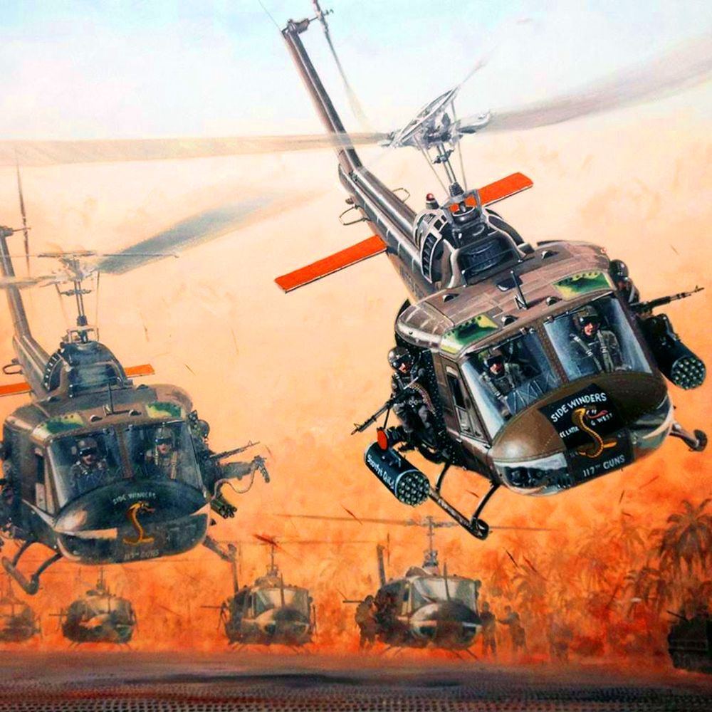 Pin Em Vietnam War Art