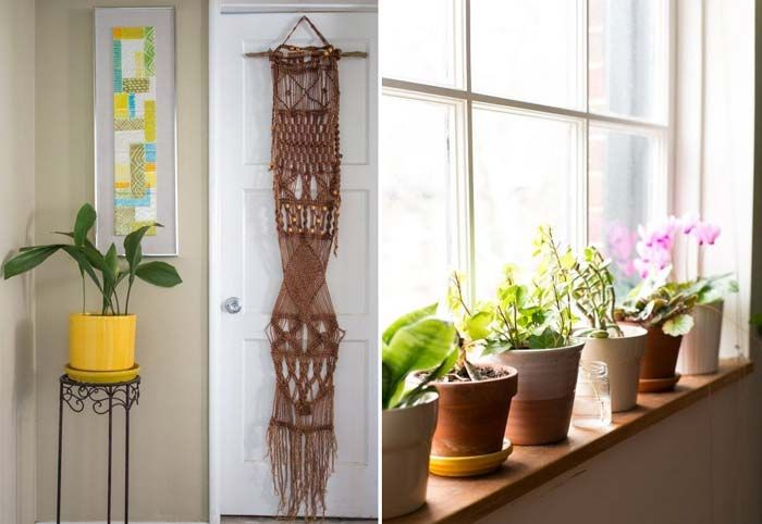 17 inspirações para decorar a casa com plantas | http://www.blogdocasamento.com.br/decorar-a-casa-com-plantas/