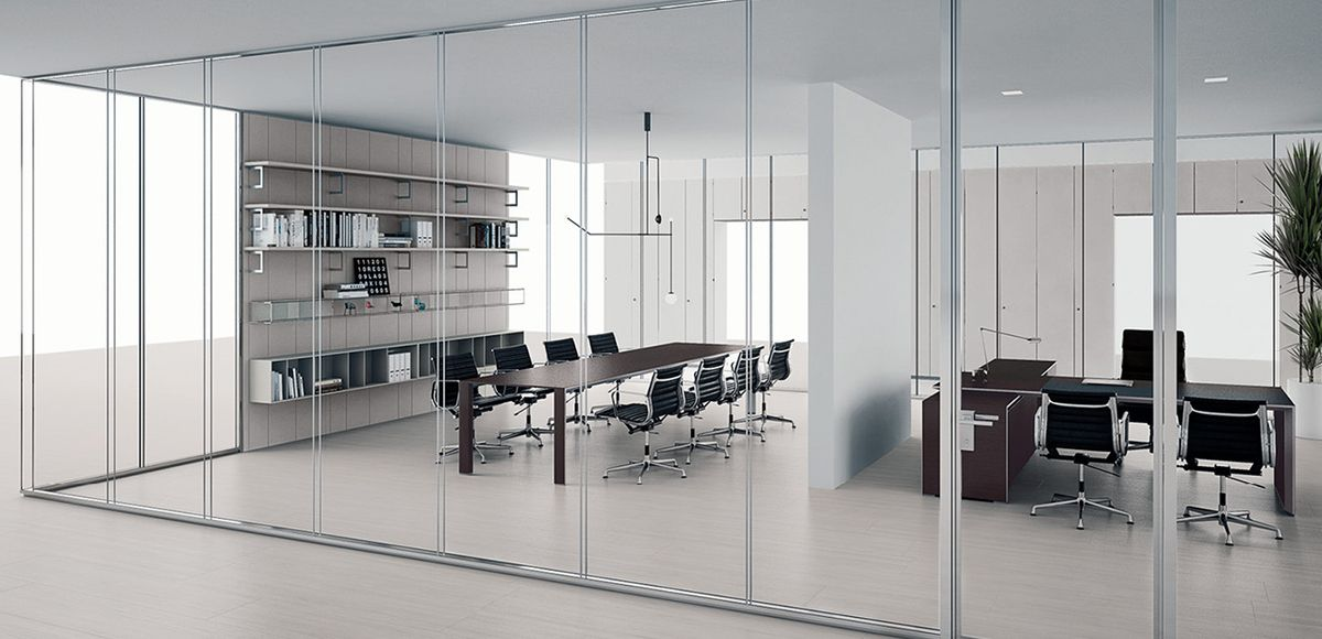 Citterio Glass Partition Wall System In 2020 Glass Partition
