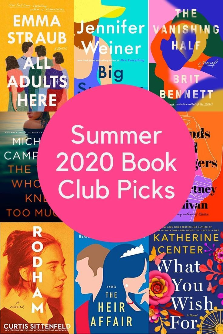 Top 10 Books for Your Book Club in Summer 2020