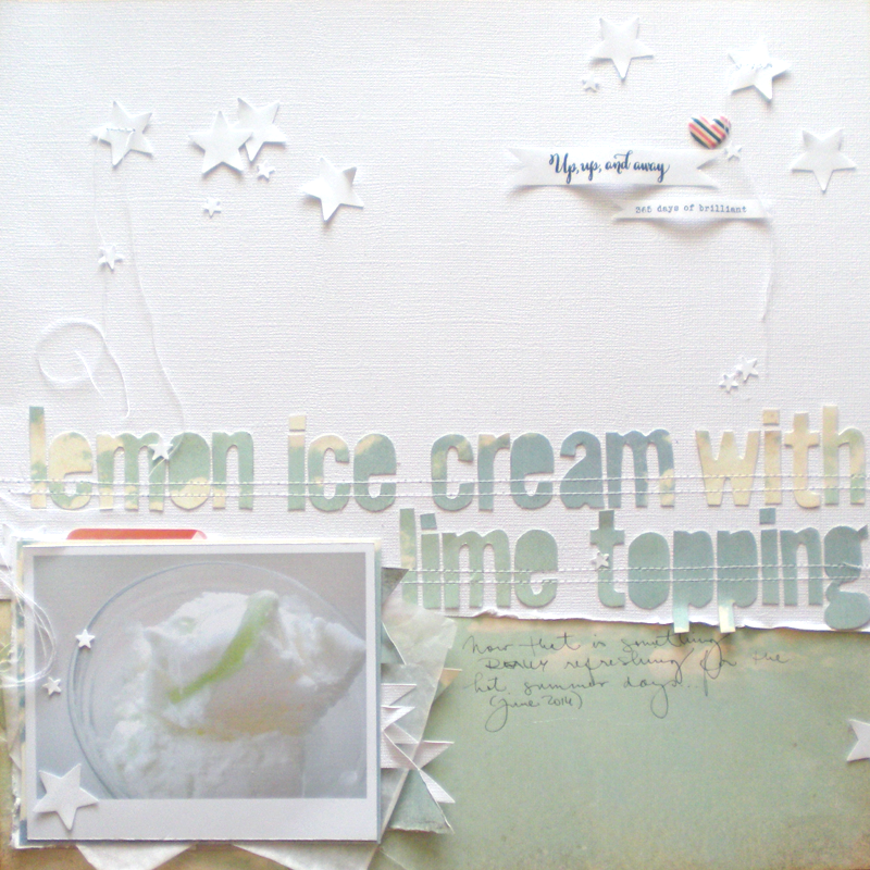design&scrapbook by Lucia Barabas: first reveal at CTK