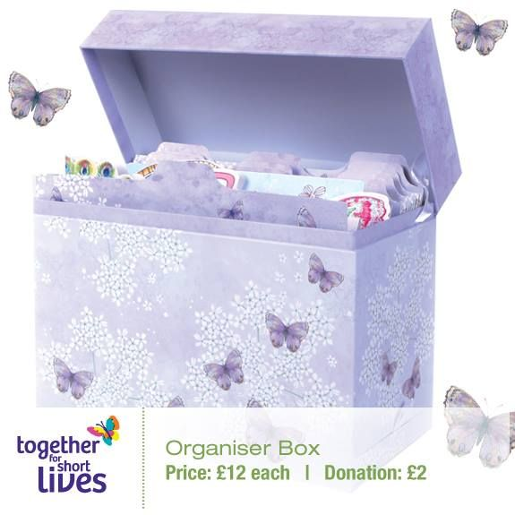 New Organiser Box Use It For Bills Recipes Secrets Birthdays Its Up To You Ideal Gift Idea For Anyone Aged Organiser Box Organization Butterfly Tea Party