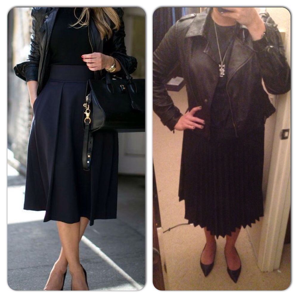 Leather jacket target - Leather Jacket Nordstrom Rack Black Top Goodwill Black Mid Length Skirt Goodwill
