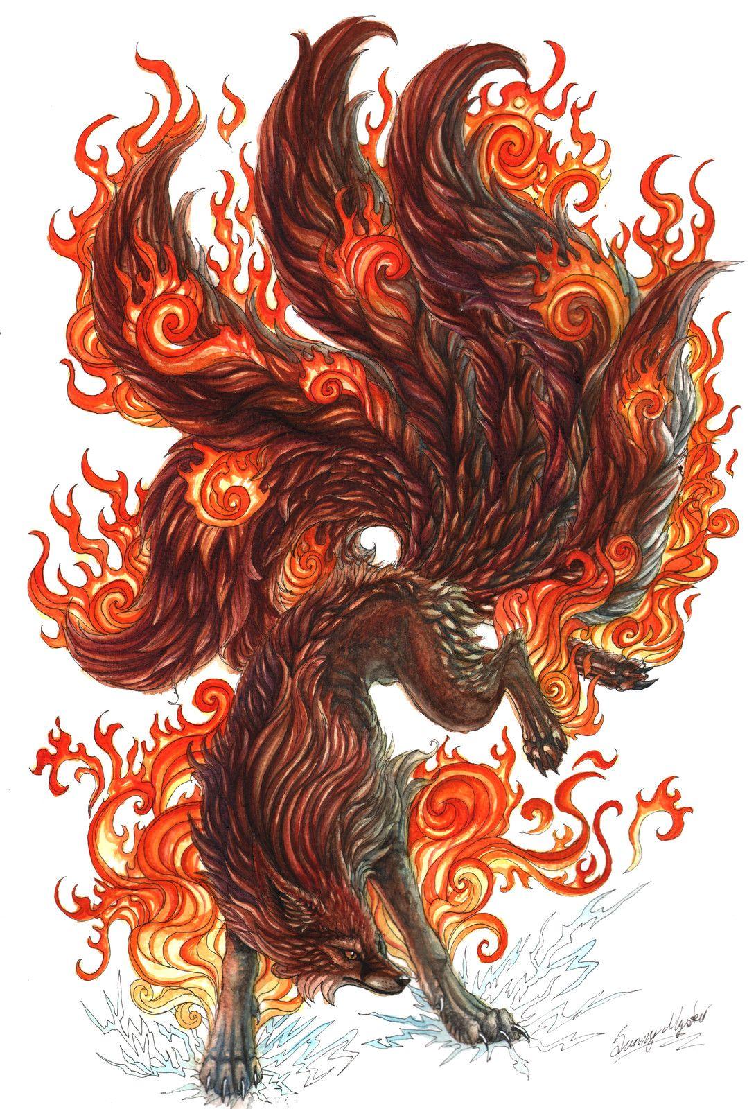21+ Dark kitsune ideas