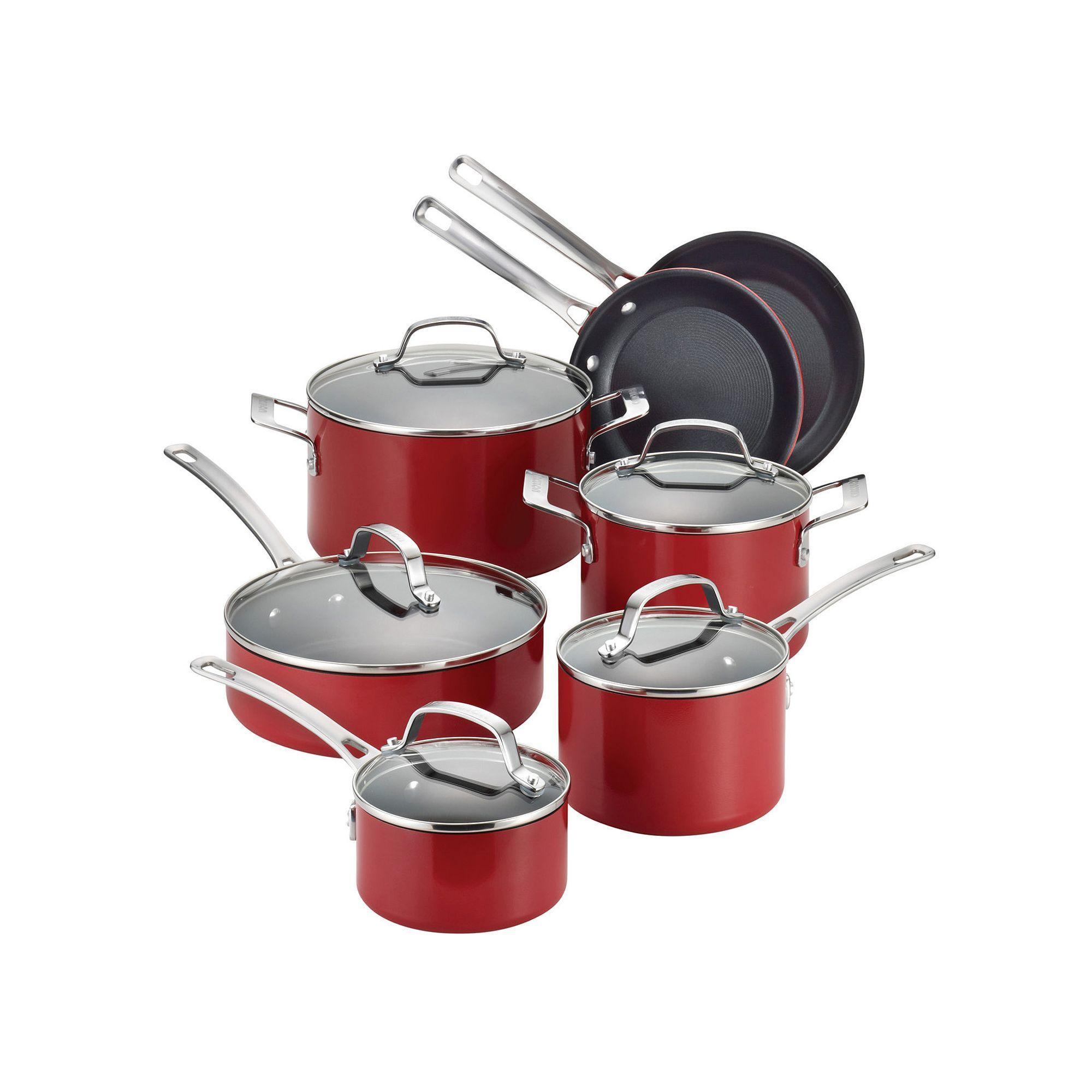 Circulon genesis 12pc nonstick aluminum cookware set