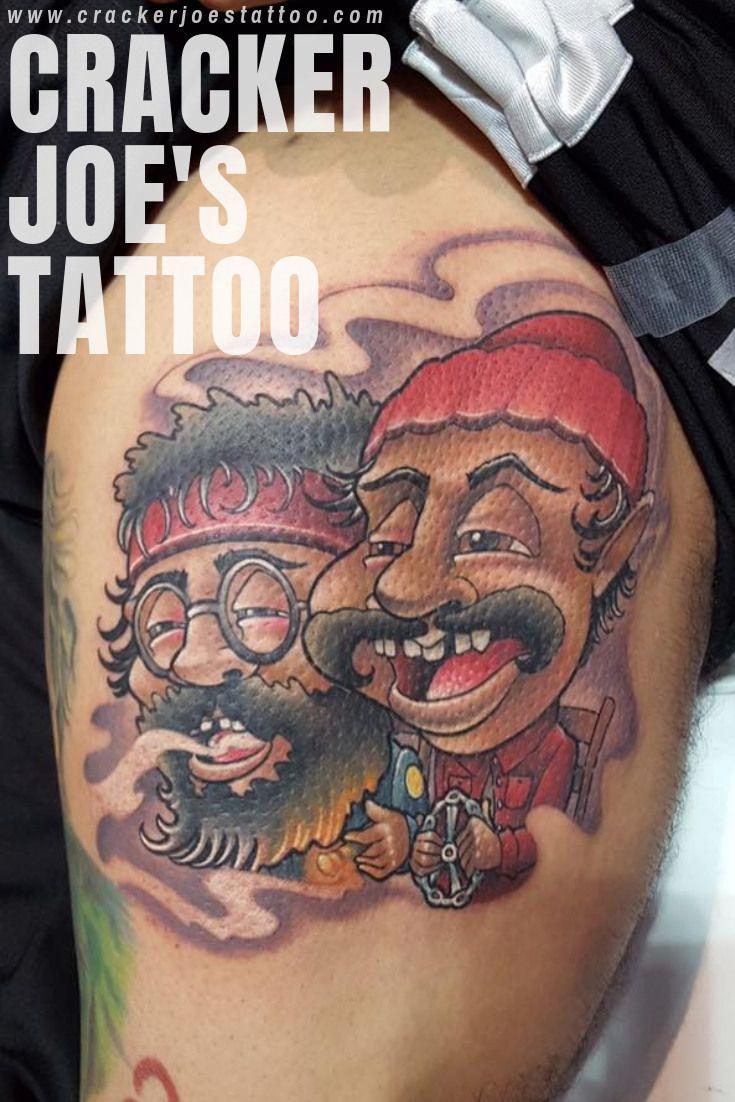 Cheech and chong tattoo cheech and chong color tattoo