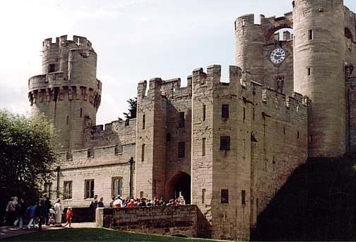 Warwick Castle, Warwickshire, England--stunningly beautiful inside and out!