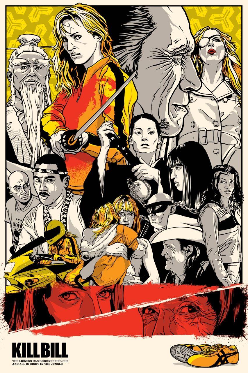 Kill Bill Vol 1 2003 Movie Posters Movie Art Alternative Movie Posters