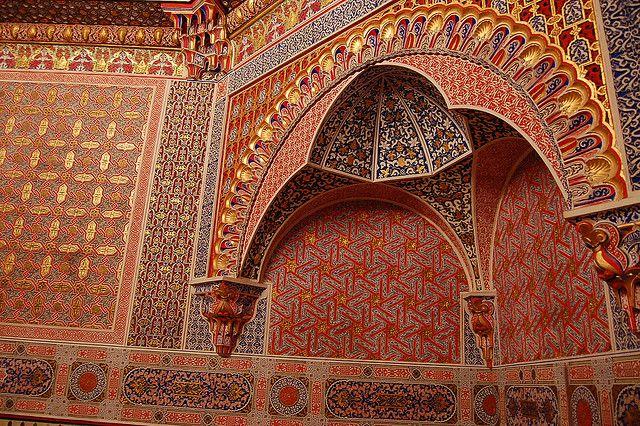 Gabinete Árabe, Palacio Real de Aranjuez by twiga_swala, via Flickr