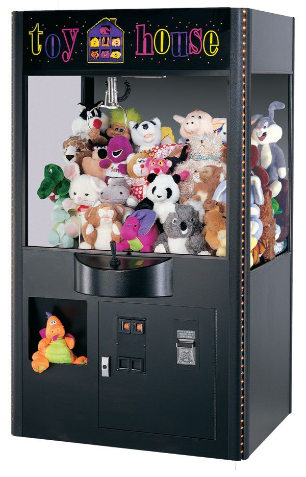 I WILL have one in my house | Claw machine, Toy house