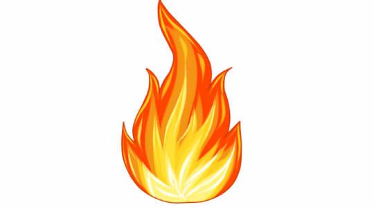 Як намалювати вогонь поетапно (With images) | Вогонь, Фотографія ...
