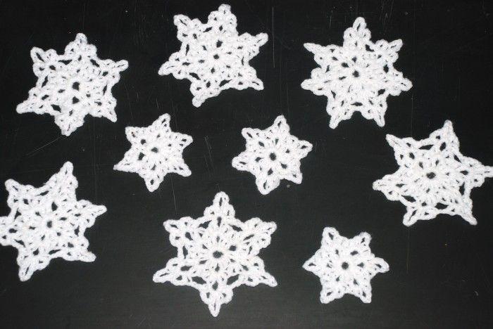 snowflake crochet