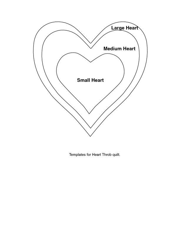 Large Heart Template Pdf Heart Template Small Heart Templates