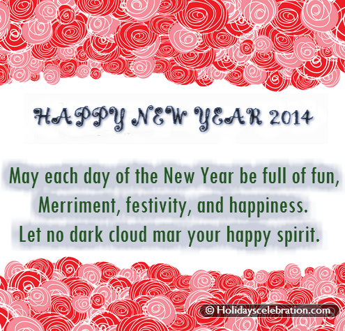 New Year Wishes | Send Happy New Year Wishes 2014 | Happy Chinese ...