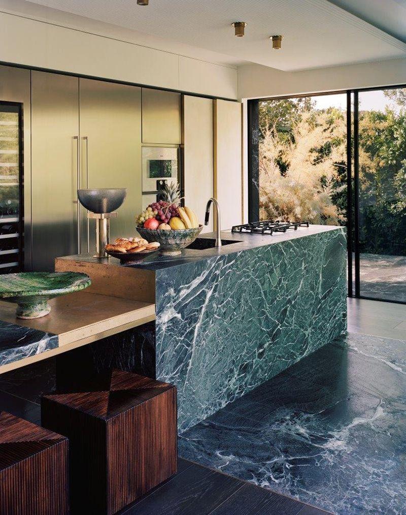 Küchendesign marmor pin von sabine graham auf küchen in   pinterest