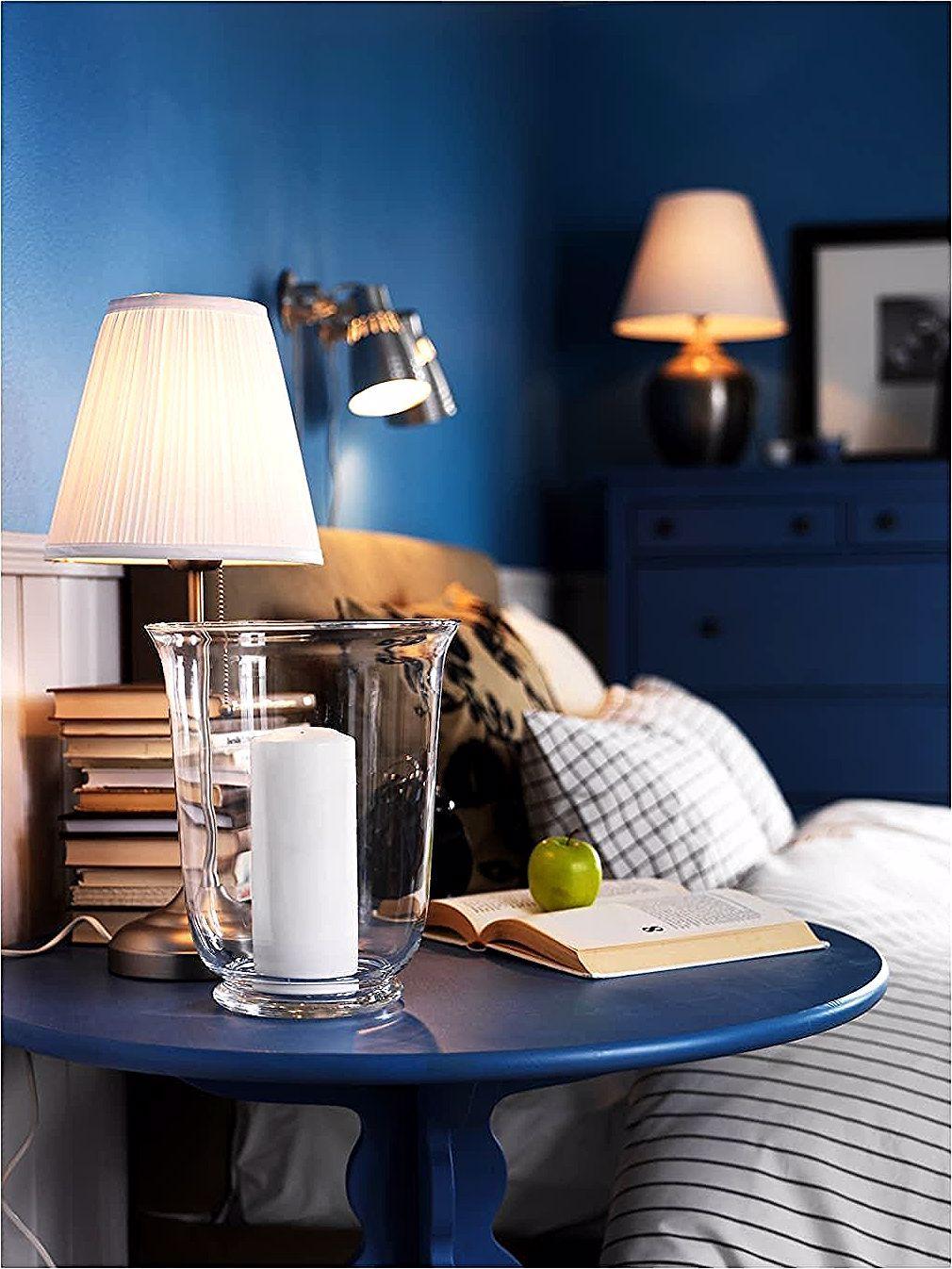 ÅRSTID Table lamp nickel plated, white IKEA | Table lamp