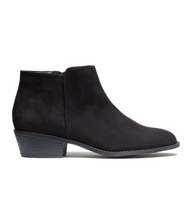 84dff94b8 Essential ankle boot with side zip