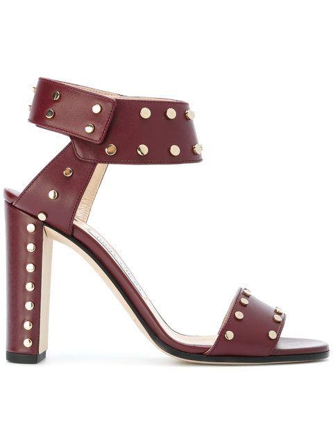 9d744faf1da9 JIMMY CHOO Studded Veto Sandals.  jimmychoo  shoes  sandals